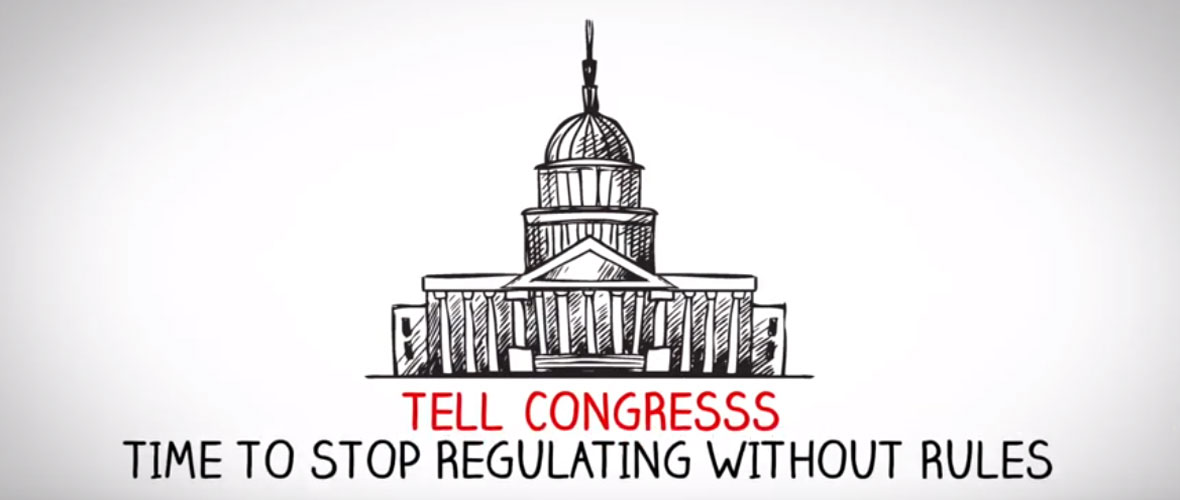 Stop Regulating Without Rules